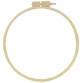 Quilter's Wooden Embroidery Hoop